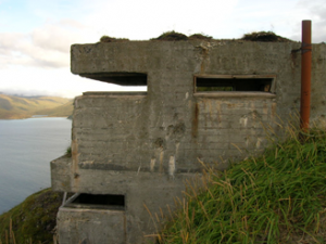WWII Aleutian Island Emplacement