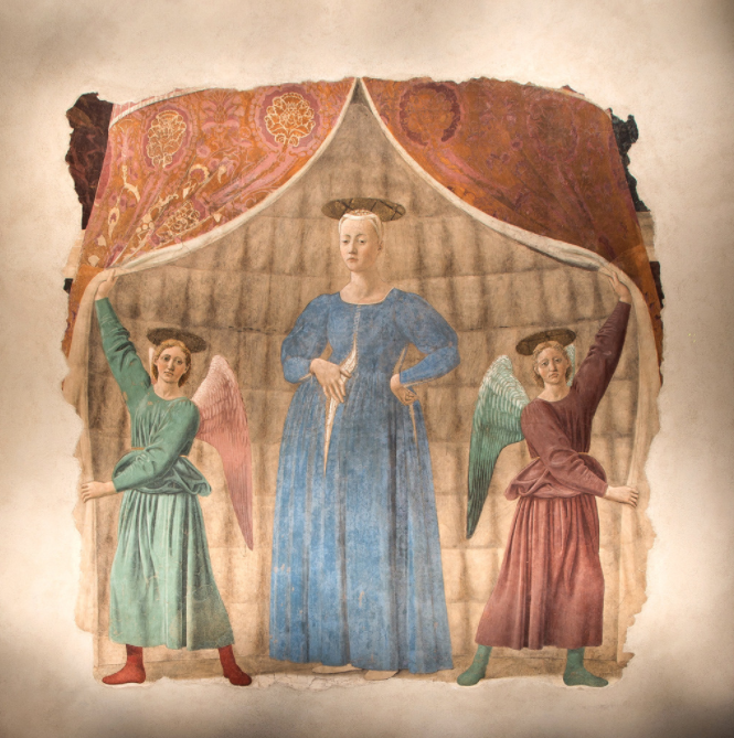 The Madonna del Parto by Piero della Francesca